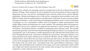 Waste Management Navarre Florida Pdf Integration Of Autonomous Wireless Sensor Networks In Academic