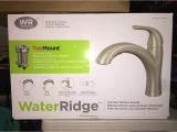 Water Ridge Faucet Costco Recall Water Ridge Kitchen Faucet Leak solution Youtube