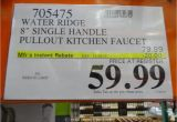 Water Ridge Faucet Costco Recall Water Ridge Pull Out Kitchen Faucet