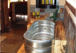 Water Trough Bathtub Ideas Galvanized Stock Tank For A Bath Tub