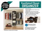 Whalen Ventilated Closet organizer Costco 11 Best Images About Whalen Storage Products On Pinterest