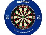 What are Dart Boards Made Of Winmau Blade 5 Dartboard Printed Surround Bdo Dart