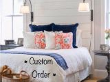 What Color Furniture Goes with A Grey Headboard Shiplap Cedar or Pine Headboard Custom Made order Ideas for the