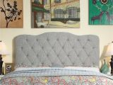What Color Furniture Goes with Dark Grey Headboard Charcoal Gray Tufted Headboard Wayfair