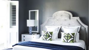 What Color Furniture Goes with Dark Grey Headboard Flip Flop Walls and Headboard Light Grey Paint with Darker Grey