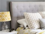 What Color Furniture Goes with Dark Grey Headboard Make A Diy Tufted Headboard the Easy Cheater S Way Lemonade