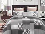 What is the Difference Between A Coverlet Quilt and Bedspread Dada Bedding Classical Shades Of Grey Reversible Cotton Real