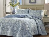 What is the Difference Between Bedspreads and Quilts Amazon Com tommy Bahama 220637 Turtle Cove Caribbean Quilt Set