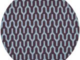 What Size Round Rug for 60 Inch Round Table Safavieh Dhurries Purple Blue 7 Ft X 7 Ft Round area Rug Dhu630b