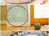 What Size Rug Should Go Under A 60 Inch Round Table 30 Bastelideen Fur Den sommer Oder Wie Ein Hula Hoop Reifen In