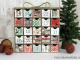 Where to Buy Unfinished Wooden Advent Calendar Diy Advent Calendar All You Need is Scrapbook Paper Fun Cheap