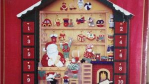 Where to Buy Unfinished Wooden Advent Calendar Rare Kirkland Signature Santa S Workshop Wooden Advent Calendar W