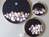 Where to Buy Unfinished Wooden Advent Calendar these Tiny Wooden Houses are Carved From Balsa Wood and Handpainted