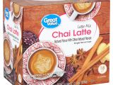 Who Buys Used Appliances In Gainesville Fl Great Value Chai Latte Mix 0 55 Oz 18 Count Walmart Com