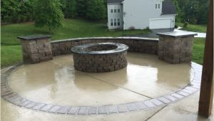 Will A Fire Pit Damage Concrete Concrete Fire Pit Exploding Outdoor Goods