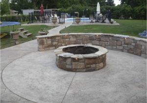 Will A Fire Pit Damage Concrete Fire Pit On Concrete Slab Concrete Fire Pit and the