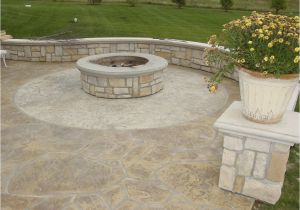 Will A Fire Pit Damage Concrete How to Build A Pit On Concrete Patio Concrete Patio Ideas