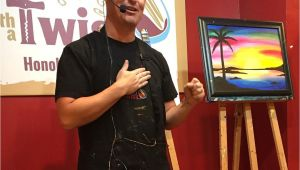 Wine and Canvas Oahu Beyond the Usual Oahu Experiences the Hawaii Admirer