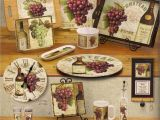 Wine and Grapes Kitchen theme Kitchen Wine Decor Kitchen Decor Design Ideas