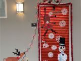 Winter Door Decorating Ideas for School Our Christmas Door Decoration First Place Made Snowman with