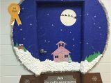 Winter Door Decorating Ideas for School Snow Globe Classroom Door Decoration Idea Crafts Pinte