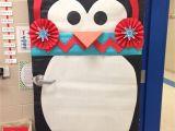 Winter Door Decorating Ideas for School Winter Classroom Door who Doesn T Love A Penguin with A Chevron