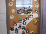 Winter Door Decorations for Classroom Door Door Decoration Winter First Grade Pinterest Przedszkole