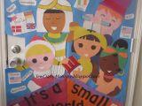 Winter Door Decorations for Classroom Door Multicultural Week for School Door Decoration It S A Small World