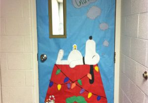 Winter Door Decorations for Elementary School Peanut Christmas Classroom Door Decoration by Mrs Smith Whca