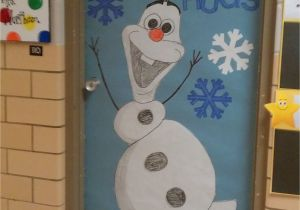 Winter Door Decorations for Elementary School Winter Door Decoration I Love Olaf Kindergarten Pinterest