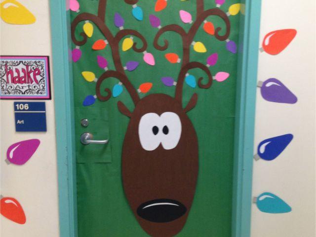 Winter Door Decorations For School Bulletin Boards Classroom Doors