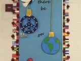 Winter Door Decorations for School Peace On Earth High School Christmas Door Decorating Christmas