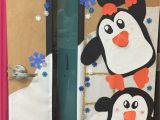 Winter Door Decorations for School Penguin Winter Classroom Door Decorating Door Decoration Ideas