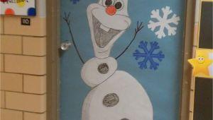 Winter Door Decorations for School Winter Door Decoration I Love Olaf Kindergarten Pinterest