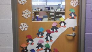 Winter Door Ideas for School Door Decoration Winter First Grade Pinterest Przedszkole