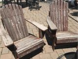 Wobble Chair for Adults Our Backyard Adirondack Chairs are Worn Weathered and Wobbly I D
