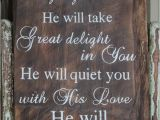 Wood Bible Verse Signs Handpainted Barn Wood with Bible Verse Sign Rustic