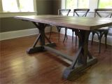 Wood Double Pedestal Table Base Kits 10 Trestle Table Ideas Design and Inspiration Trestle Table