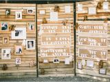 Wood Pallet Picture Display Rustic Wood Pallet Escort Card Display
