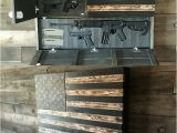 Wooden American Flag Gun Holder Best 25 Hidden Gun Storage Ideas On Pinterest Gun