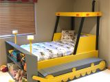 Wooden Bunk Bed assembly Instructions Pdf Bulldozer Bed Plans Pdf format Create A Construction themed