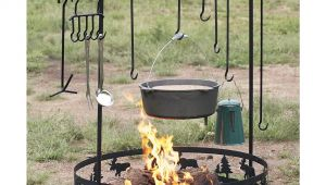 Wrought Iron Campfire Cooking Equipment Guide Gear Campfire Cook Set 126555 Cookware