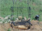 Wrought Iron Campfire Cooking Equipment Items Similar to Deluxe Adjustable Camp Fire Grill On Etsy