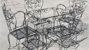Wrought Iron Patio Furniture Craigslist Furniture Images About Wrought Iron Furniture On Retro