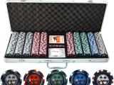 Wsop Clay Poker Chip Sets 500pc Pro Poker 13 5g Clay Composite Poker Chip Set with