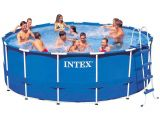 Yard Guard Pool Cover Amazon Com Intex 15ft X 48in Metal Frame Pool Set with Filter Pump