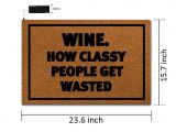 You Better Have Tacos Doormat Amazon Com Msmr Doormat Entrance Floor Mat Funny Door Mat Wine How